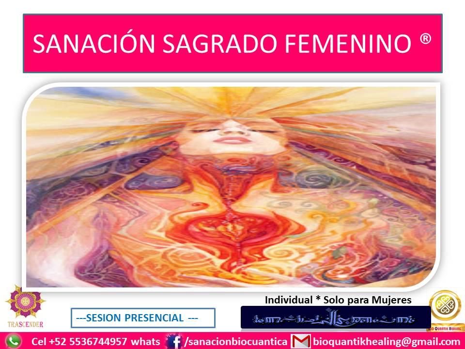 SANACION SAGRADO FEMENINO