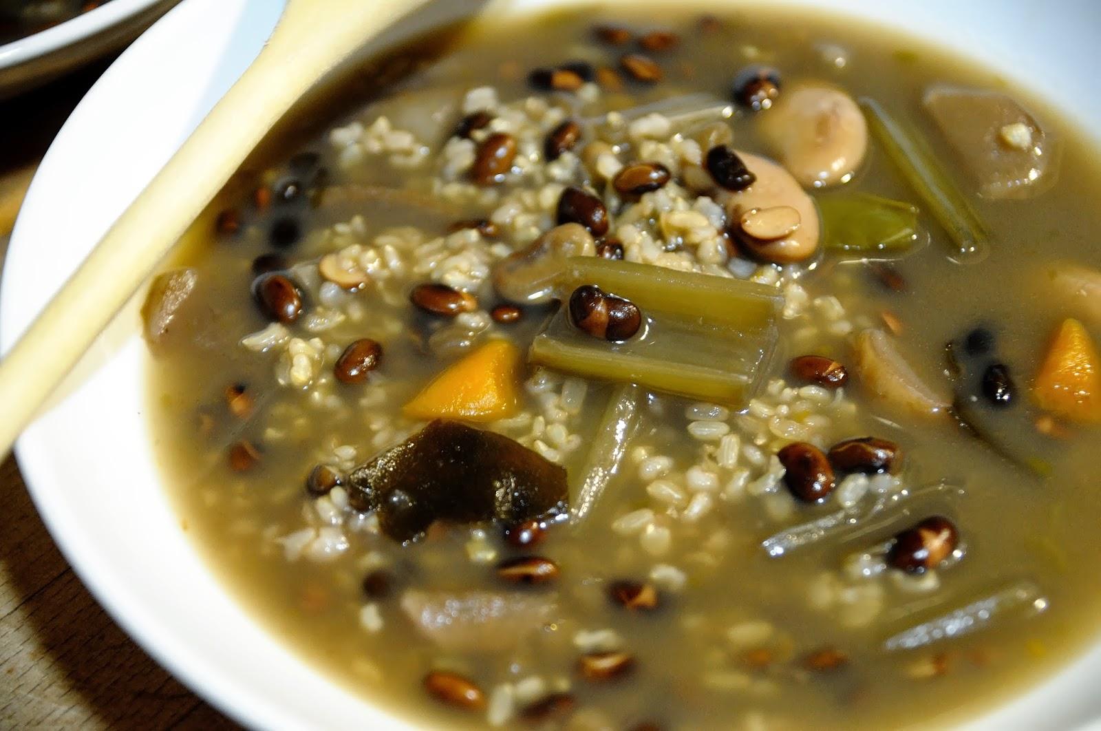 Cocinar Con Soja   Arroz Caldoso Con Soja Negra Cocinar Para Nutrir