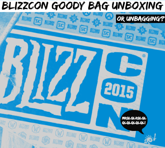 BlizzCon Goody Bag 2015