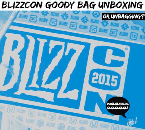 BlizzCon Goody Bag 2015