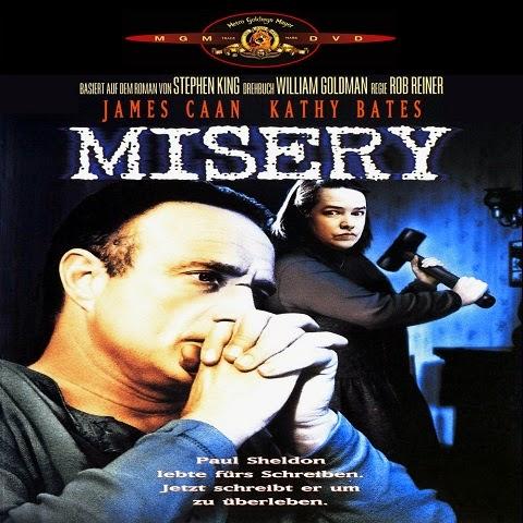 Misery es un filme estadounidense de 1990, dirigida por Rob Reiner.