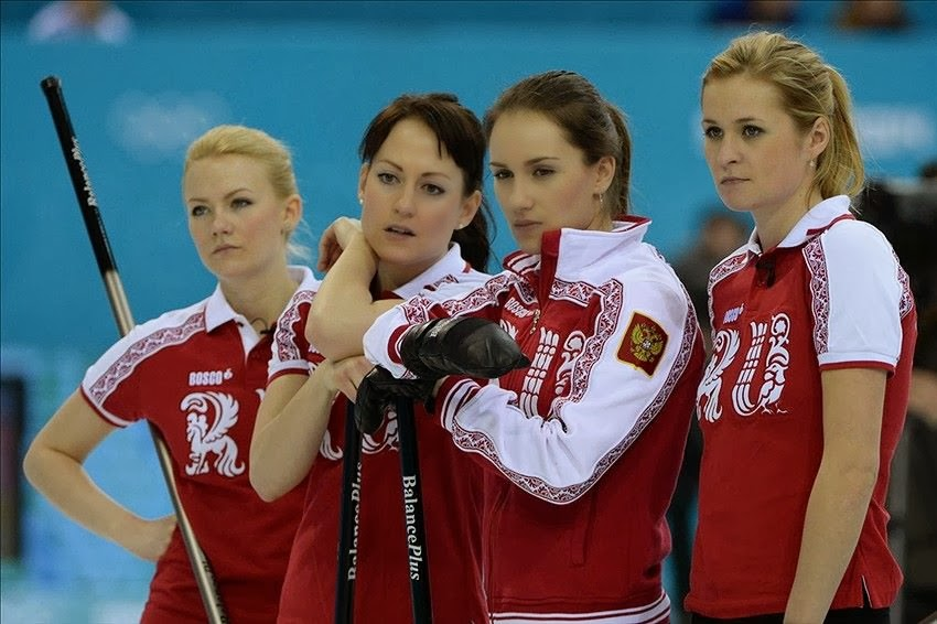 Youtube Russian Ladies Curling Team 38