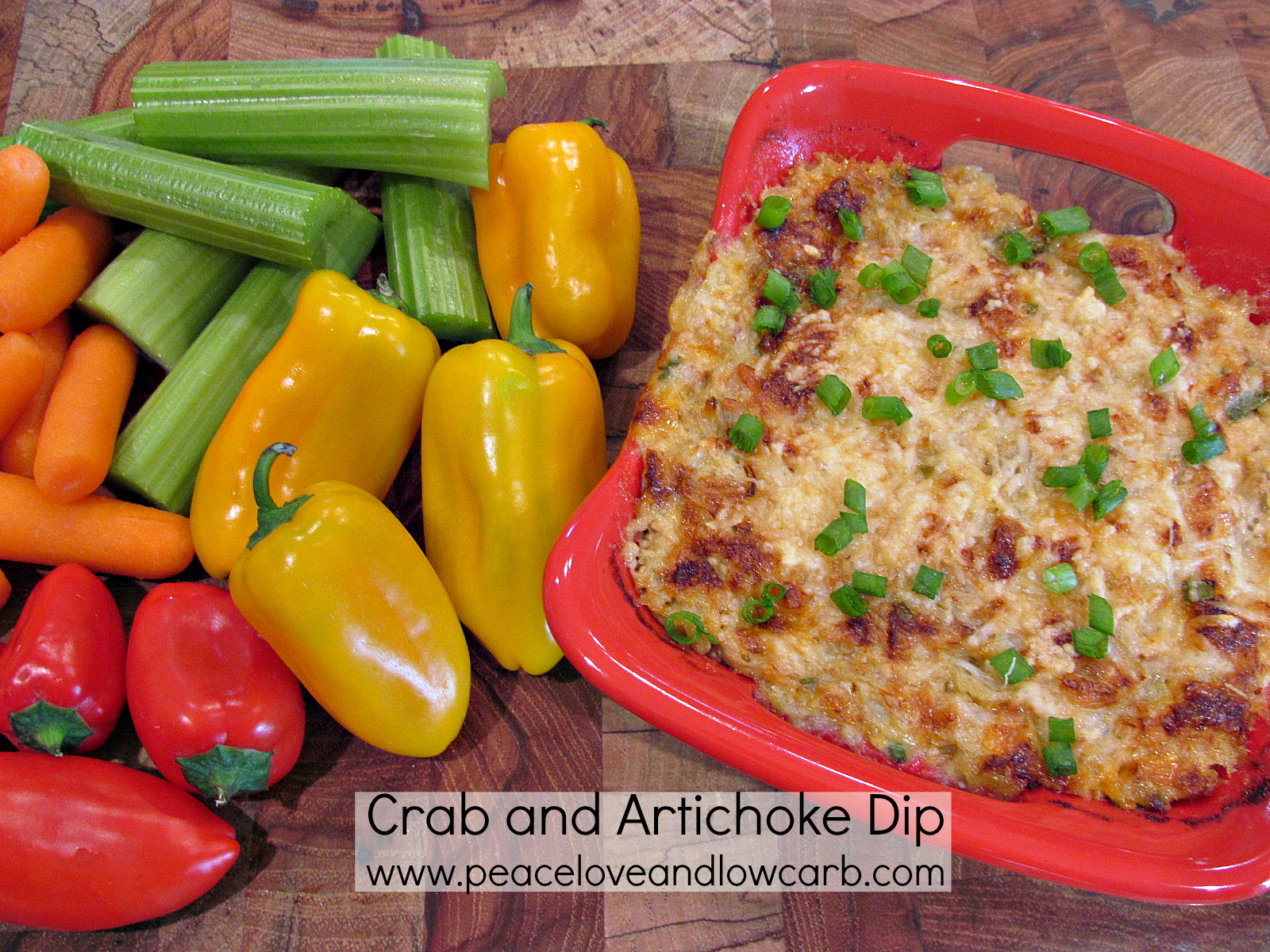 Crab and Artichoke Dip – Low Carb, Gluten Free