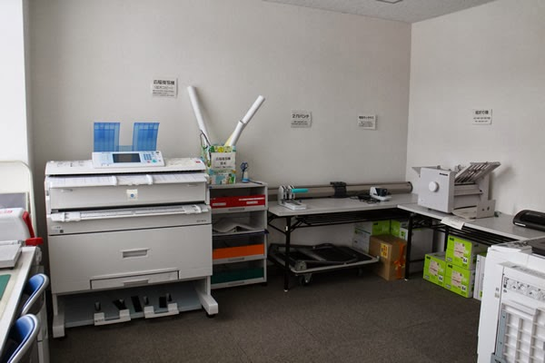 ワークスペース(印刷室)