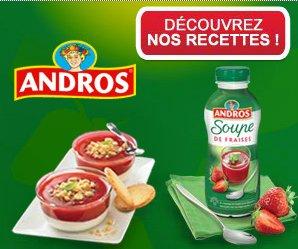concours 750g recettes de soupe de fraises andros blogs de cuisine. Black Bedroom Furniture Sets. Home Design Ideas