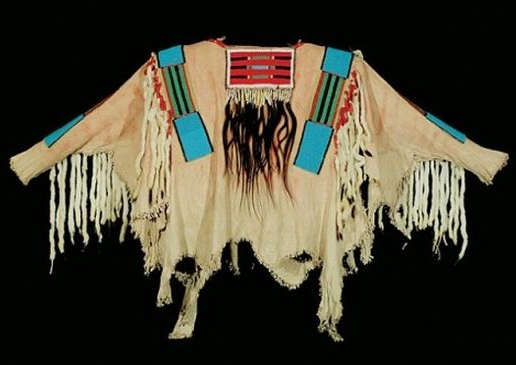 poncho shirt of indian chief joseph of the nez perce tribe