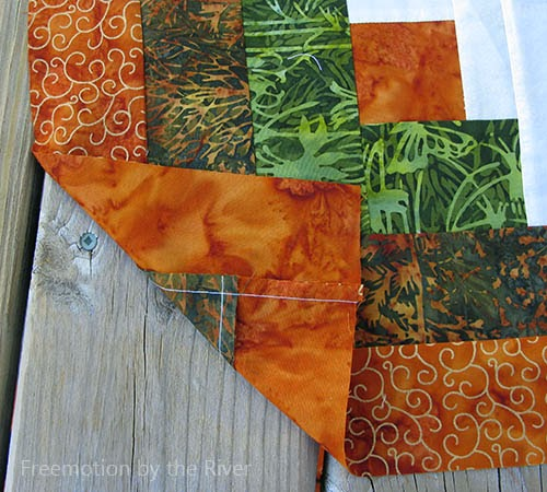 Island Batik fabric with metallic accents