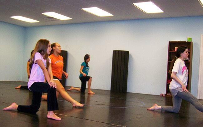 modern dance class charlotte nc