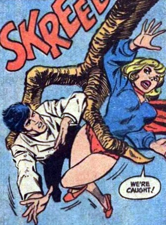 Supergirl #2, giant bird