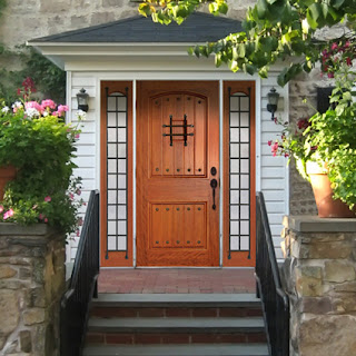 New home designs latest wooden main entrance homes doors for Latest main door