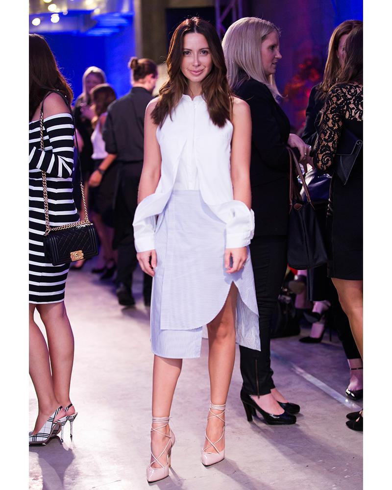 Friend in Fashion, Dion Lee, Inhabit, Westfield, White Shirt,