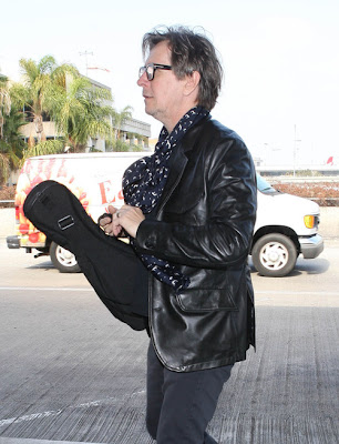 Gary Oldman with ukulele