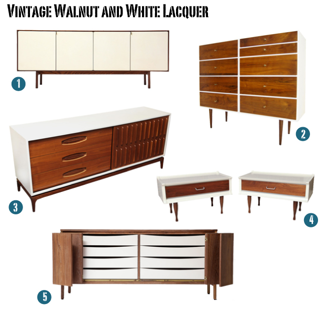 17 Best images about White & wood furniture on Pinterest  Mid century  credenza, Vintage and Mid century sideboard