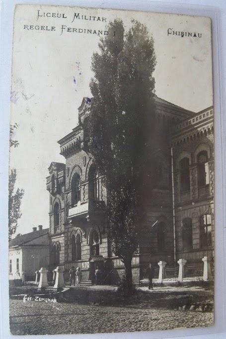 Liceul Militar Regele Ferdinand din Chisinaul interbelic