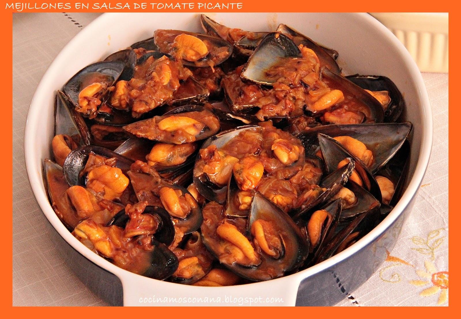 Hoy me apetece cocinar mejillones al vapor en salsa de for Cocinar mejillones en salsa