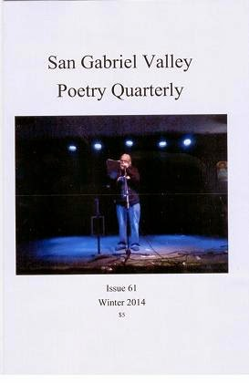 San Gabriel Valley Poetry Quarterly Winter 2014