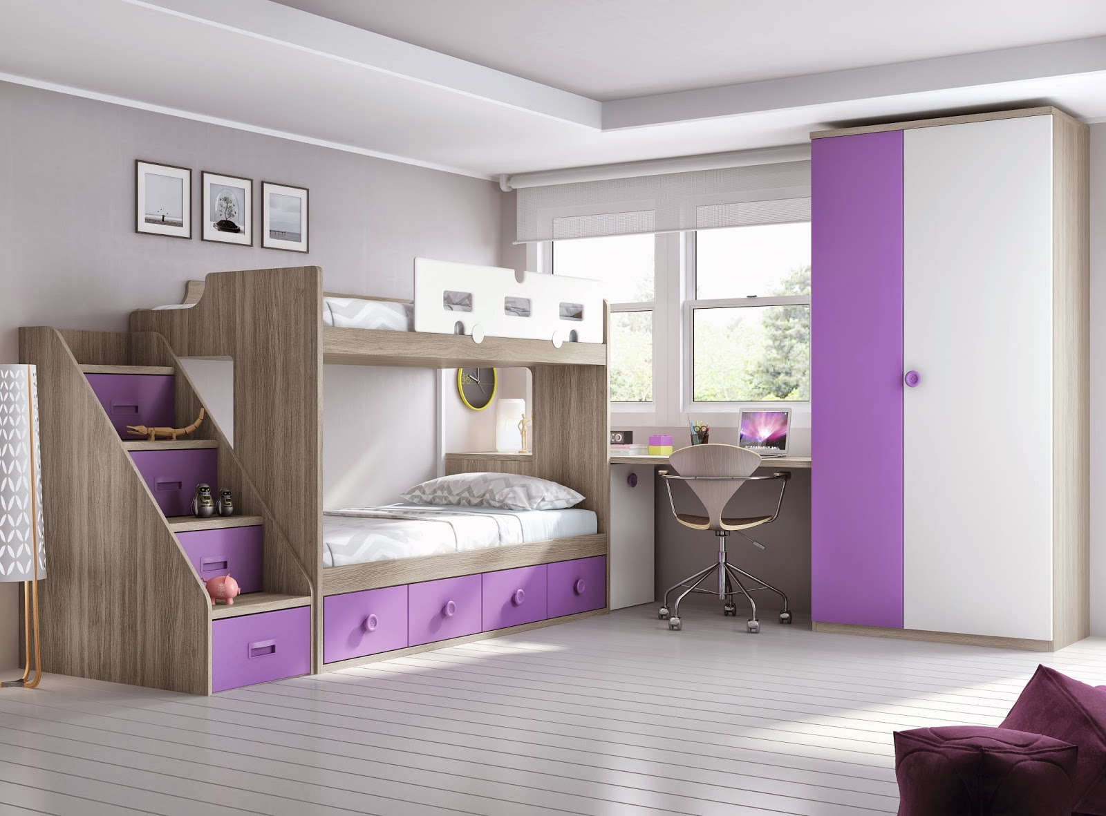 Litera juvenil 605fm15264 muebles dormitorios juveniles for Dormitorios juveniles online