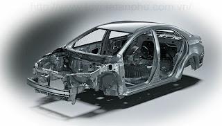 khung xe GOA Corolla Altis 1.8G CVT 2014 tại toyota tan phu