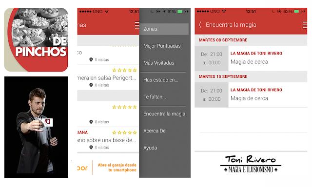 Aplicación De Pinchos Ferias Salamanca mago Toni Rivero