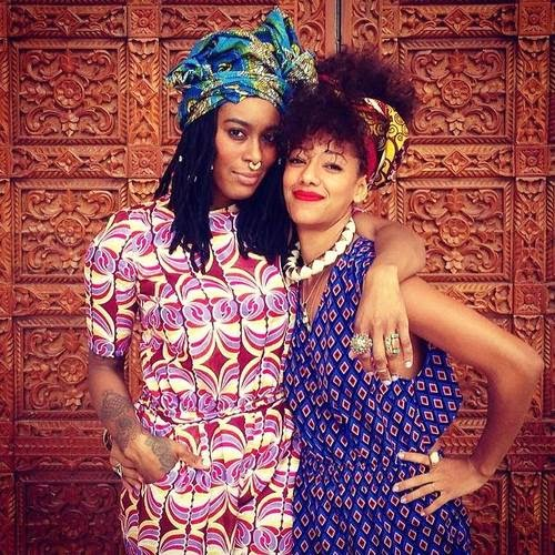 african style women