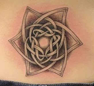 tattoo ideas celtic star tattoo