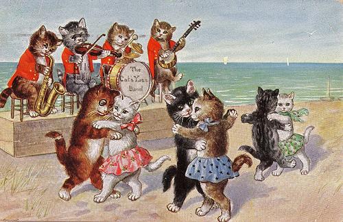 Поздравление с днём рождения любительнице кошек 79
