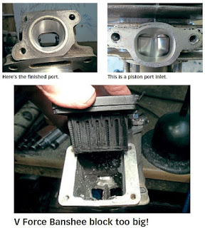 How To Enlarge Two-Stroke Ports ?