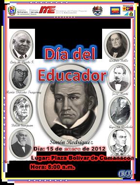 """Afiche """"Día del Educador"""""""