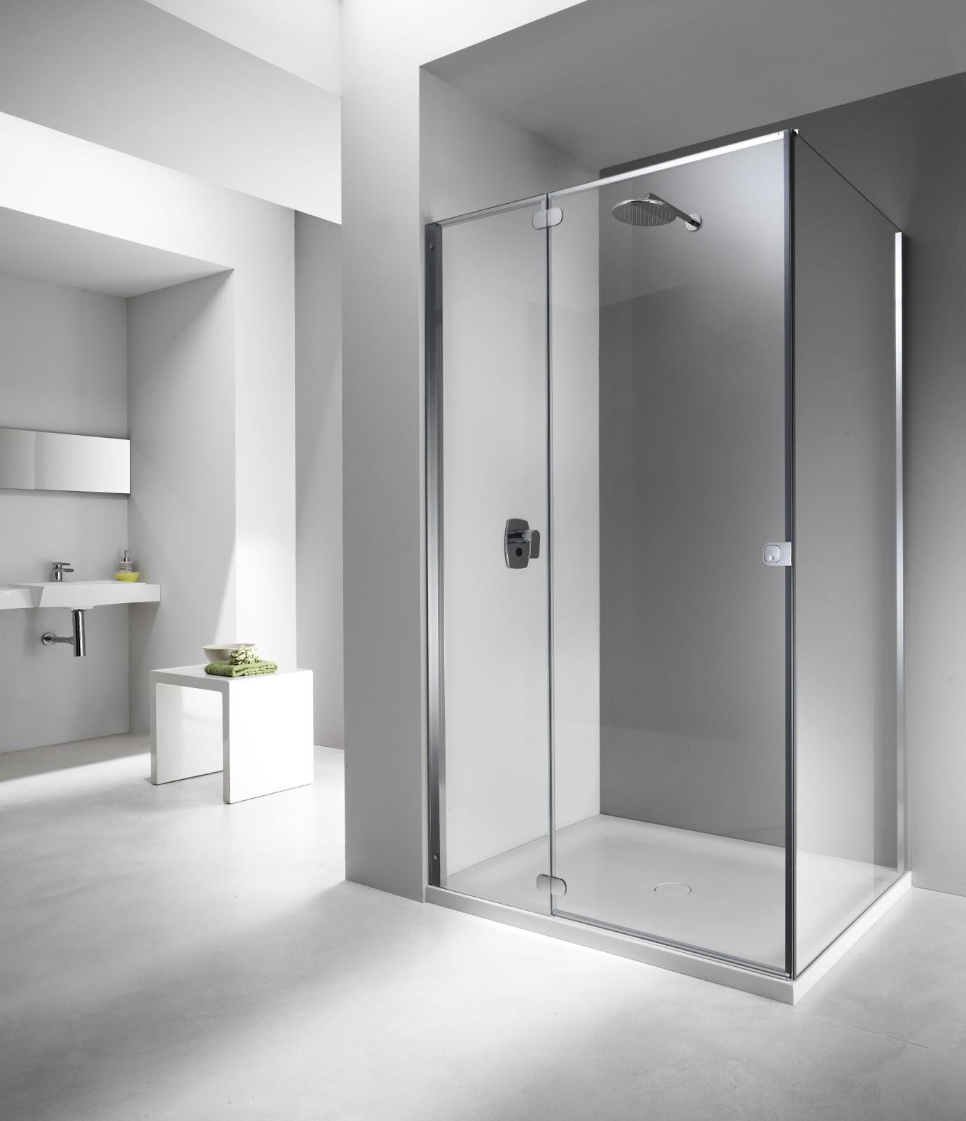 4bildcasa flat il box doccia del futuro touch and feel - Il box doccia ...