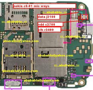 Nokia C6-00 Mic