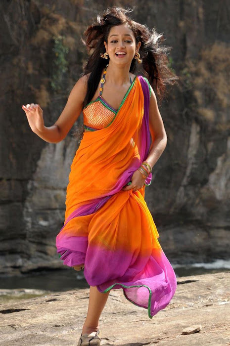 shanvi spicy galley in saree unseen pics