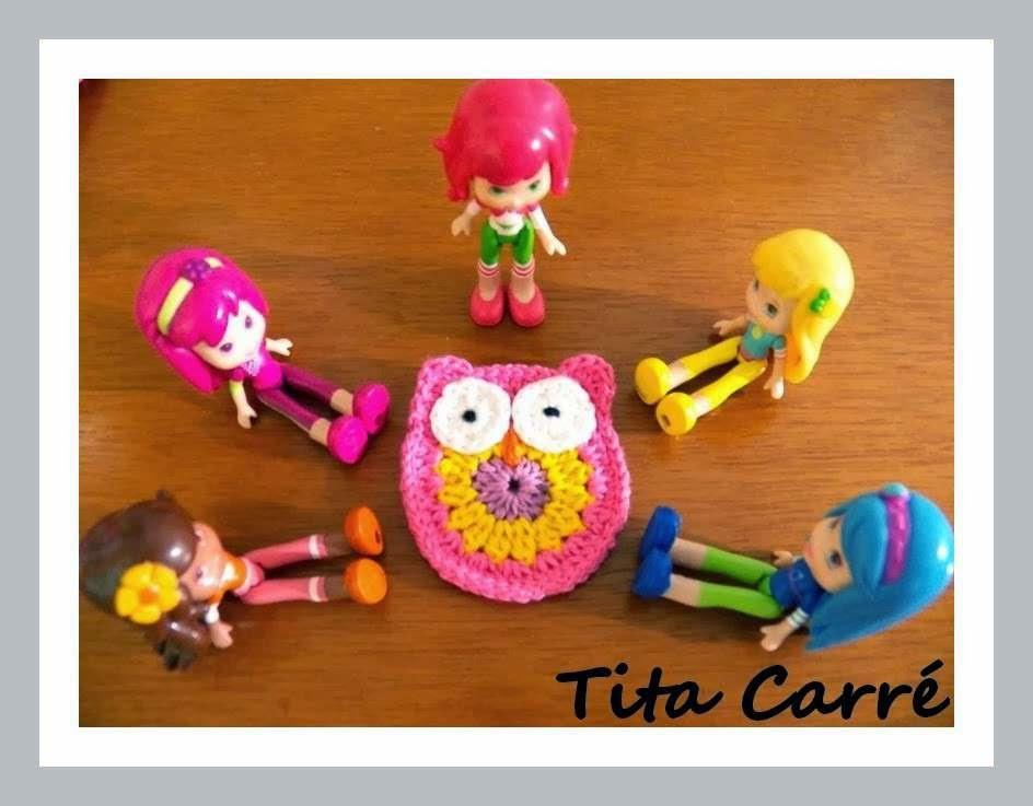 Coruja em crochet