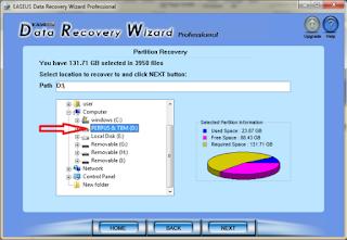 tutorial untuk mengembalikan data yang sudah terdelete selamanya
