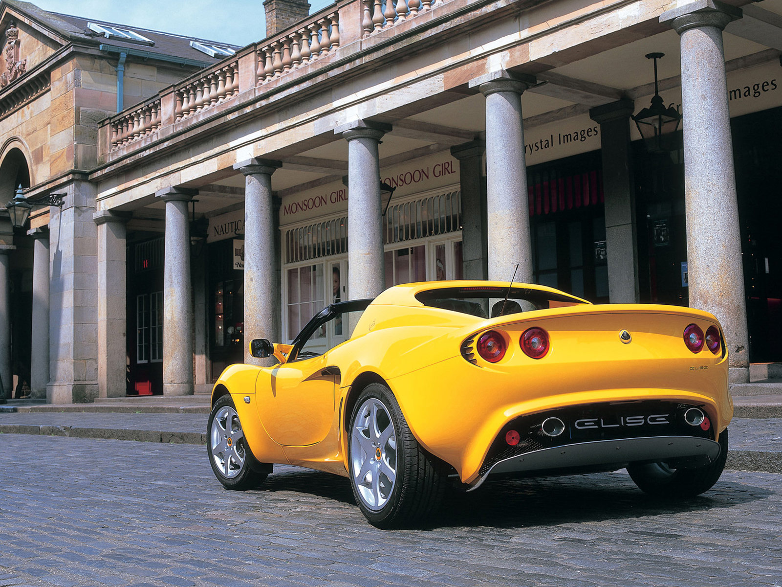2004 LOTUS Elise | Lotus car picture |
