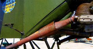 Выхлопной коллектор двигателя У-2 (По-2)