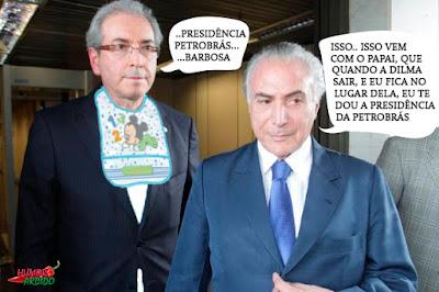 Petrobrás e Cunha