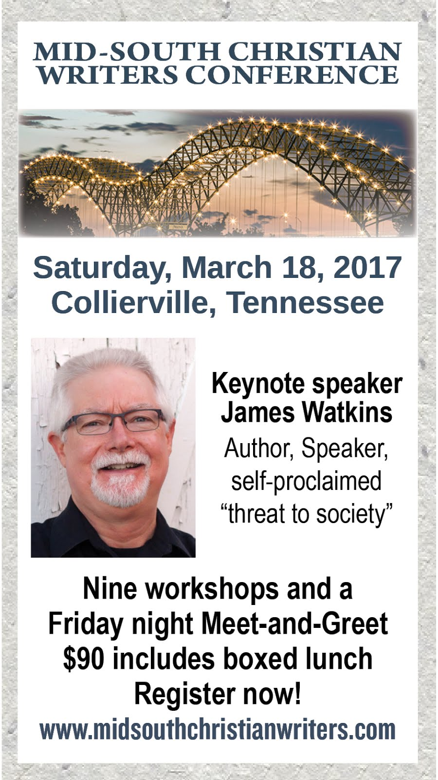 Don't Miss This Writers Conference!