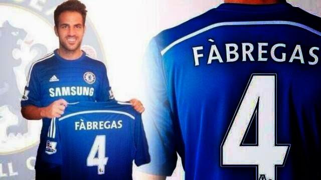 رسميا : فابريغاس ينتقل من برشلونة الى تشيلسي
