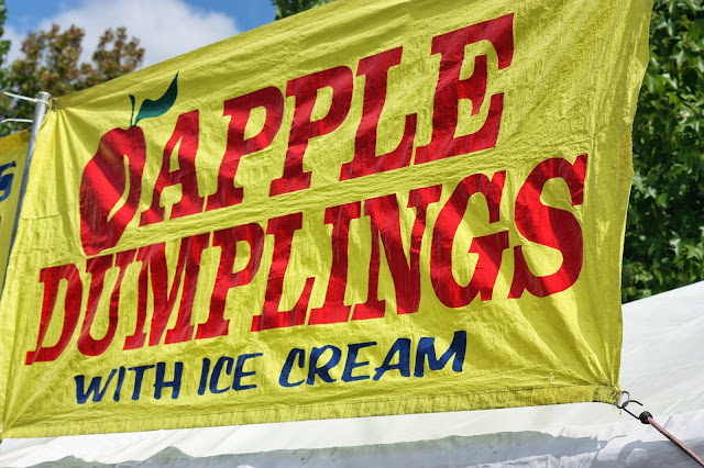 Apple dumplings banner