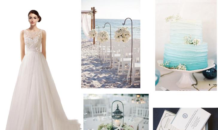 cocomelody beach wedding dresses