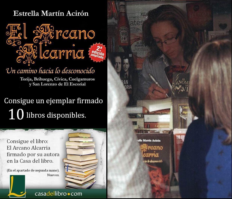 Libros firmados por la autora.