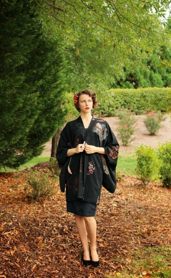 Vintage Kimono #vintage #fashion #kimono #1950s #style