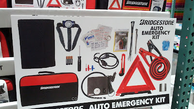 Be prepared for emergencies with the Bridgestone Auto Emergency Kit