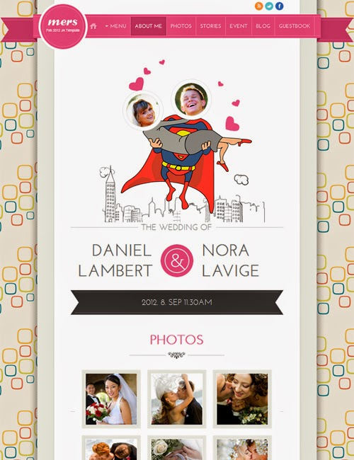 JA Mers v1.0.7 – Wedding Template for Joomla