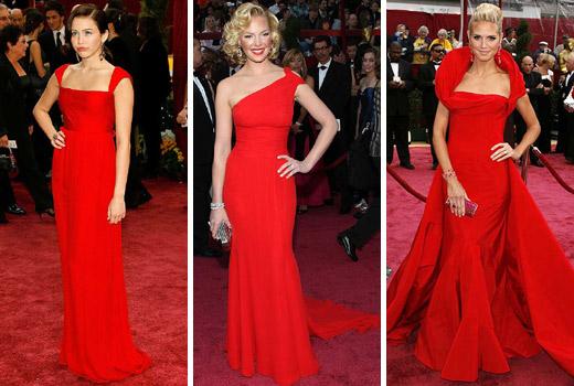 Complementos para un vestido de fiesta rojo