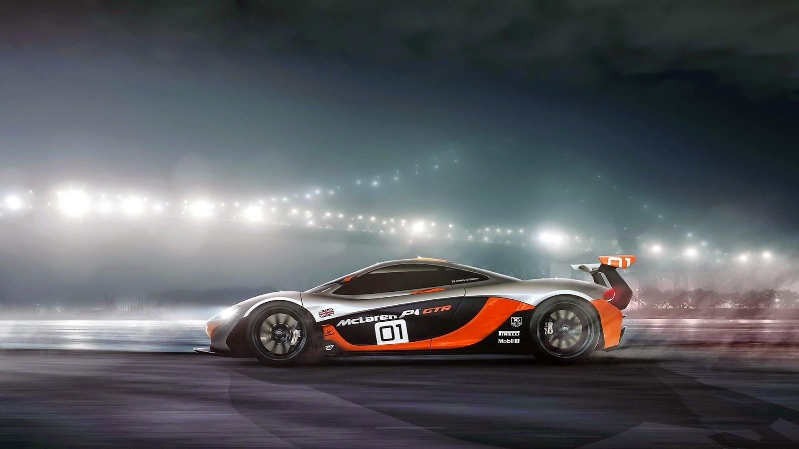 Fondo de Escritorio McLaren P1-GTR
