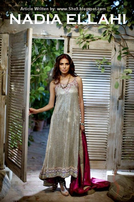 Nadia Elahi Bridal Dress Collection 2015