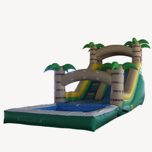 Tropical Waterslide