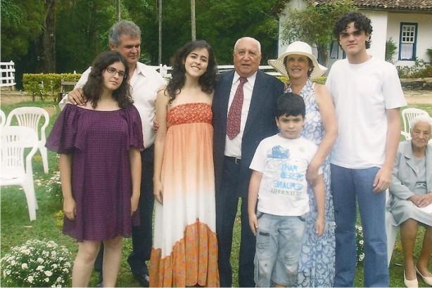 Família de Luiz Flávio de Castro Madeira