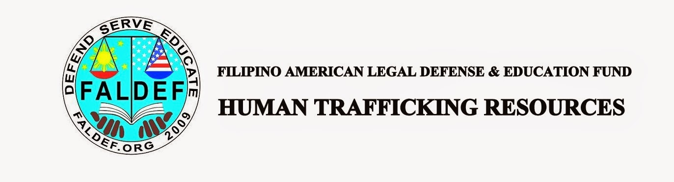 FALDEF: Human Trafficking Resources